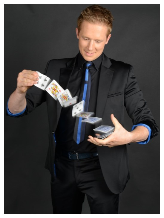 wedding magician martin john