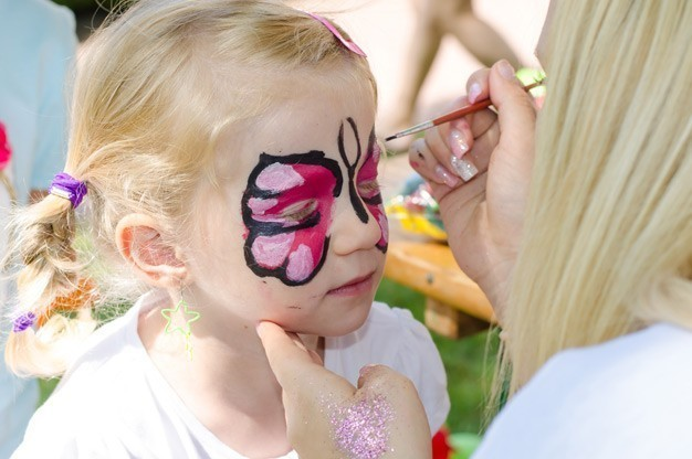 Face Painters for Wedding Drinks Receptions