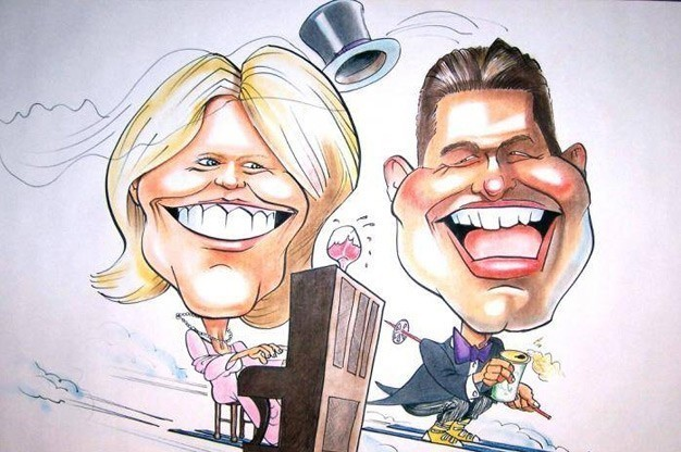 Click here to view Caricaturist Kelly Cox's Profile