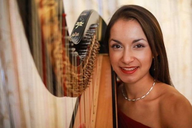 Click here to view Harpist Melissa Adriana's Profile