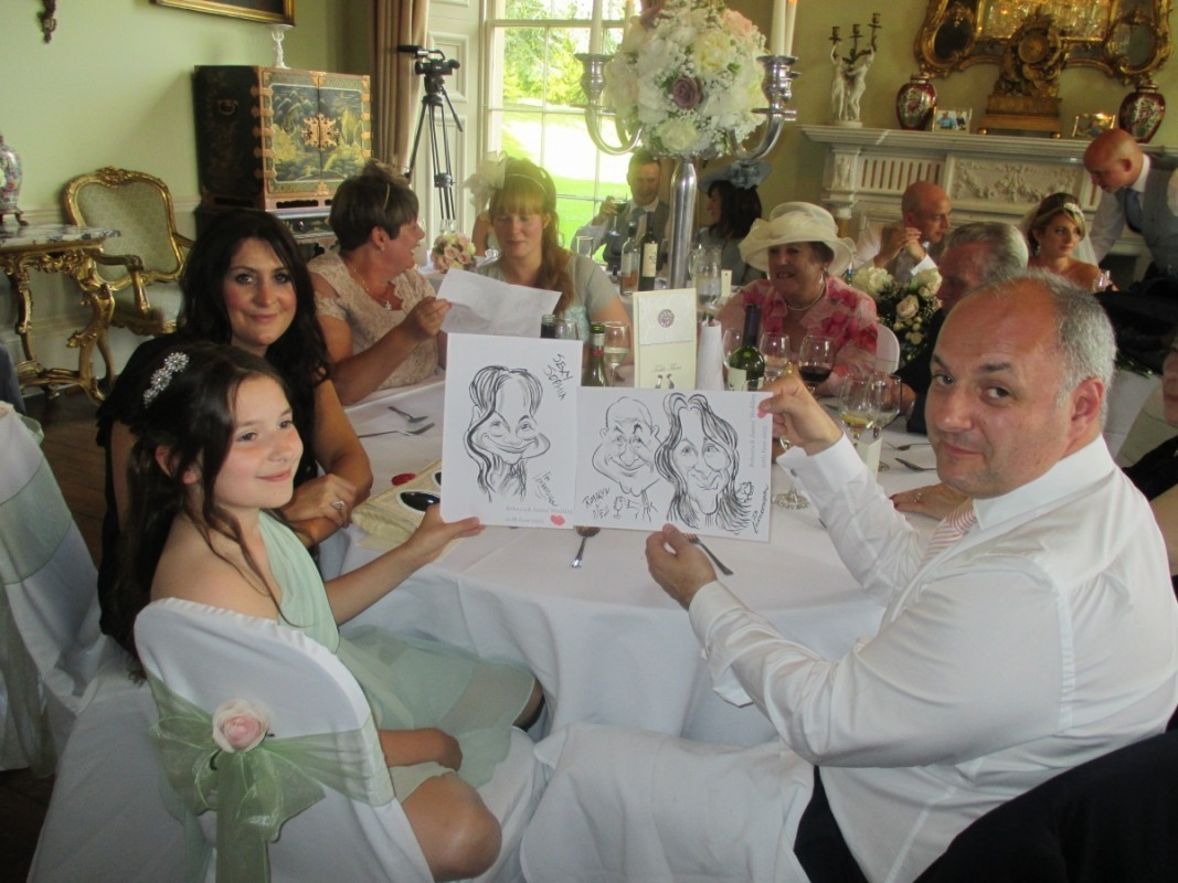 Tim Leatherbarrow caricaturist