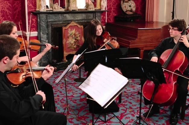 440 Quartet performing