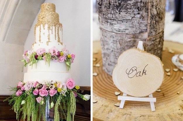 Photo-5-Rustic-Table-Pieces-and-Wedding-Cake