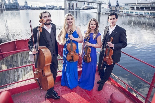 Click here to view String Quartet - Giardino Strings