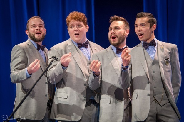 Click here to view Male Singers / Quartet, The Newfangled Four's Profile