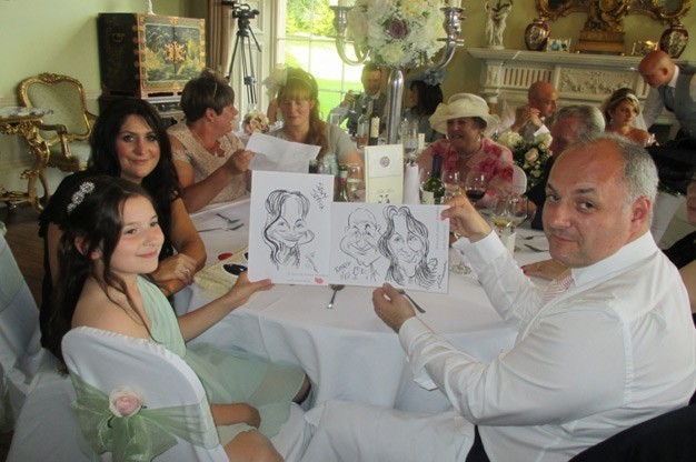 Click here to view Caricaturist, Tim Leatherbarrow's Profile