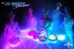 Moz Drums LED Entertainment
