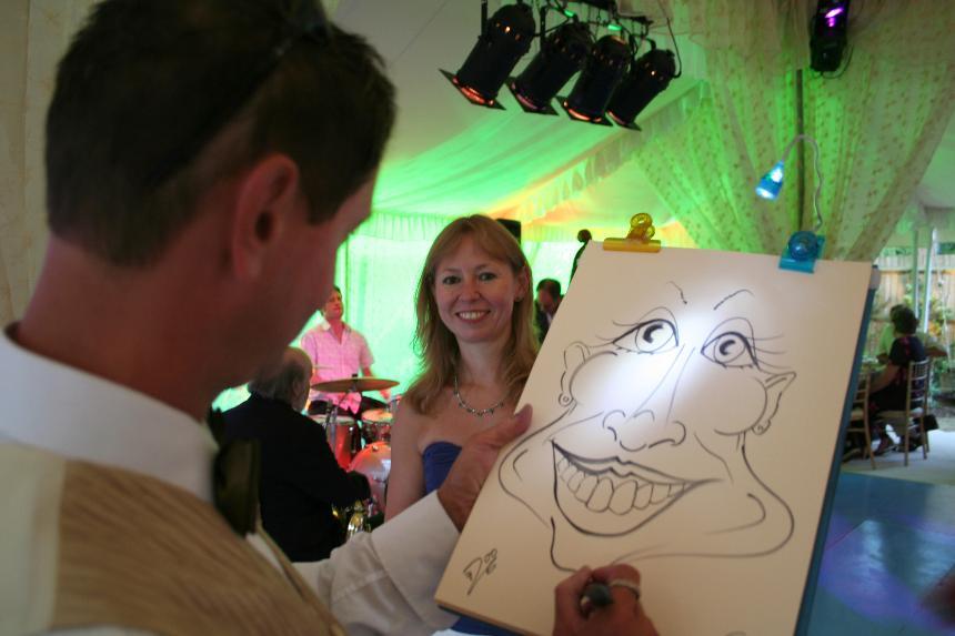 Phil Coley Caricaturist