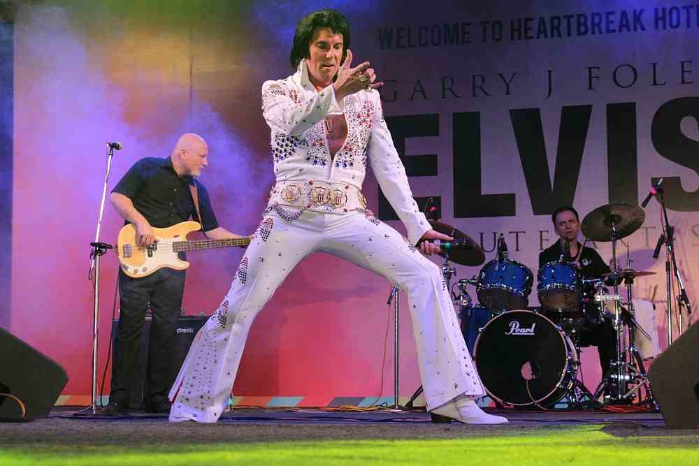 Elvis Tribute Act Garry J Foley