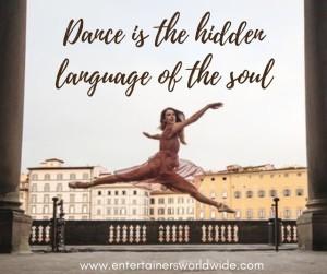 Dance is the hidden language - FB