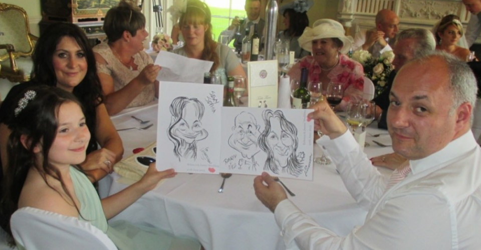 caricaturist, party