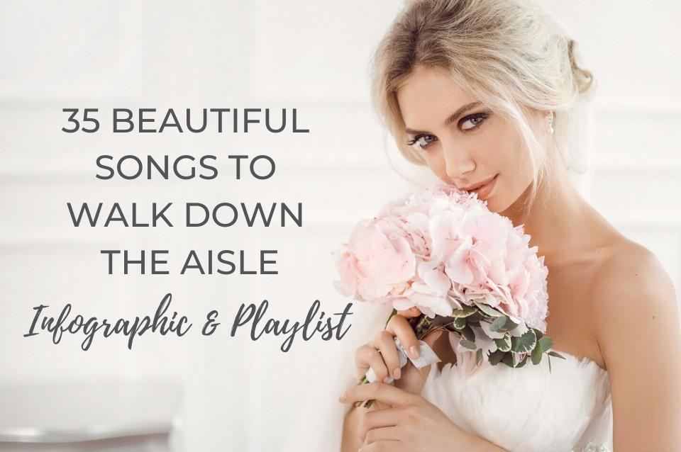 wedding, aisle, entrance, songs, inspiration