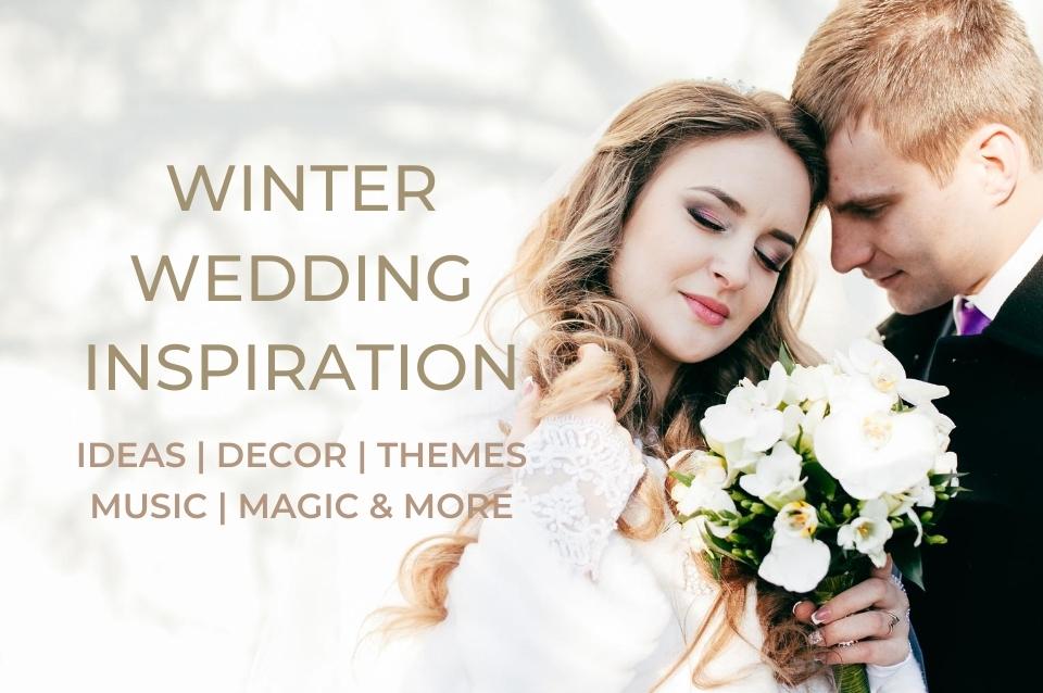 winter, wedding, ideas, inspiration, decor, music