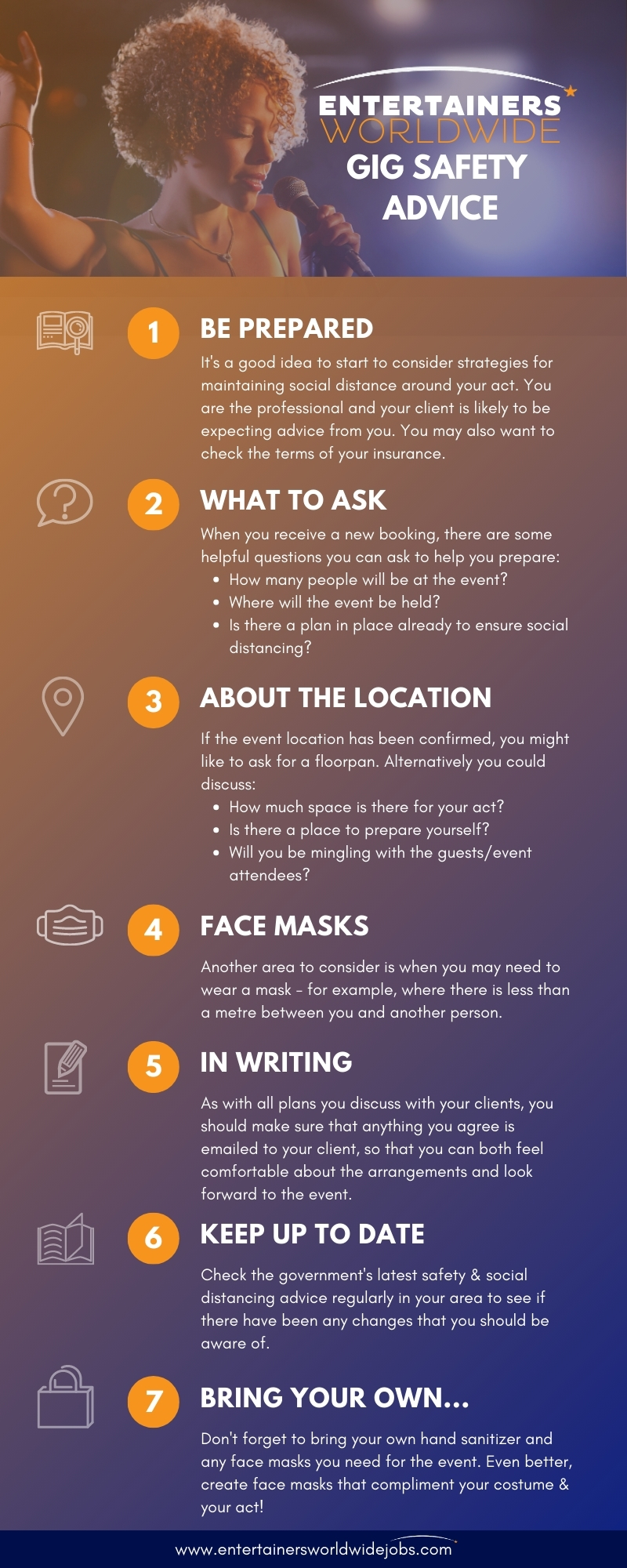 advice, social, distancing, safety, covid-19, infographic, entertainers