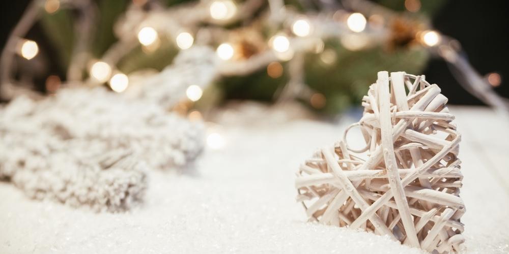 christmas, house, winter, wonderland