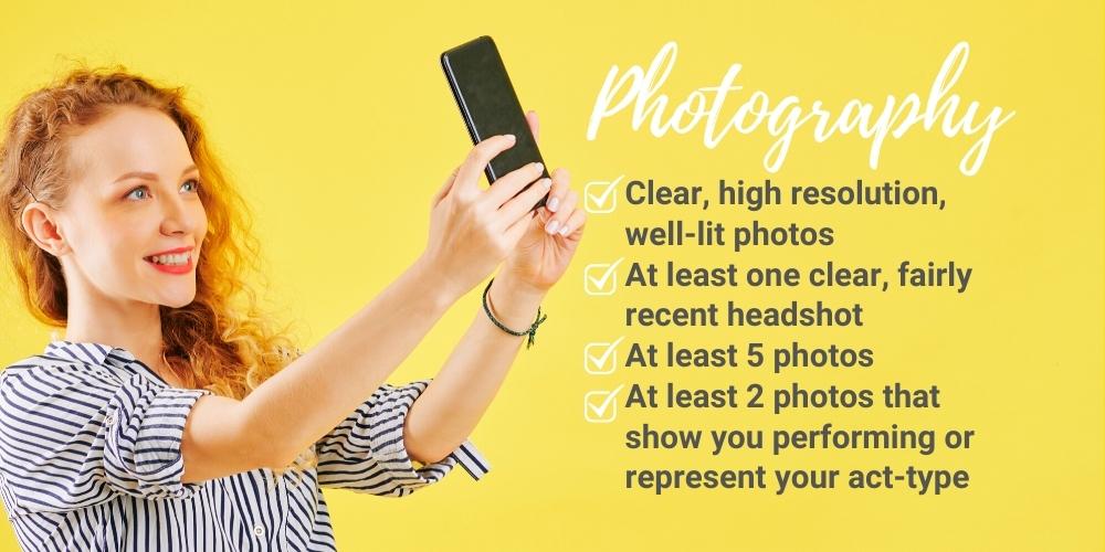 photography, promotional, promo, singers, dancers, bands, magicians, musicians