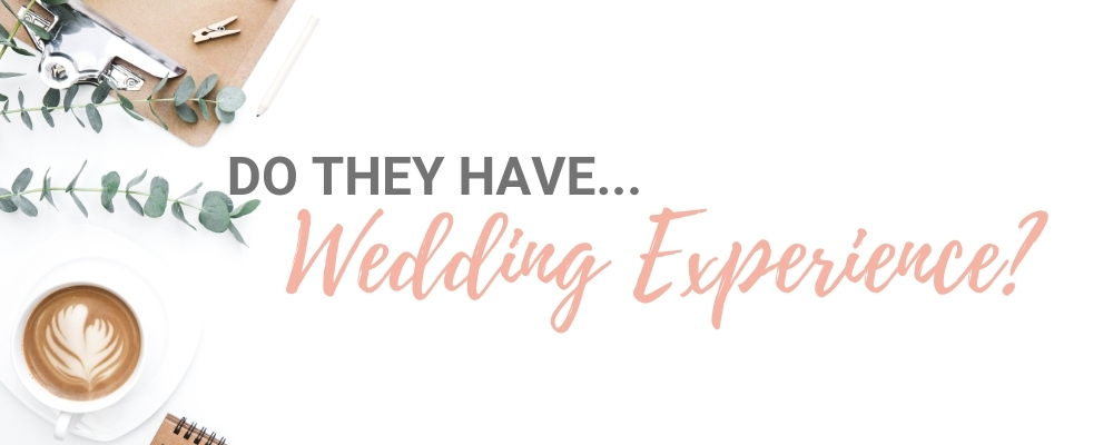 Entertainers with wedding experience
