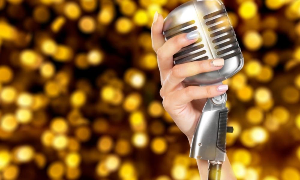 Book a singer