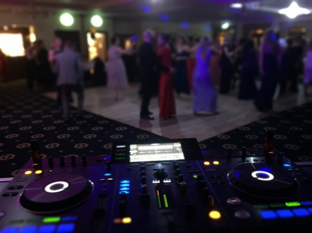 DJ booked for a party