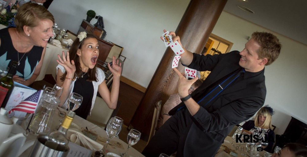 Close-up Magician Table Magic Martin John