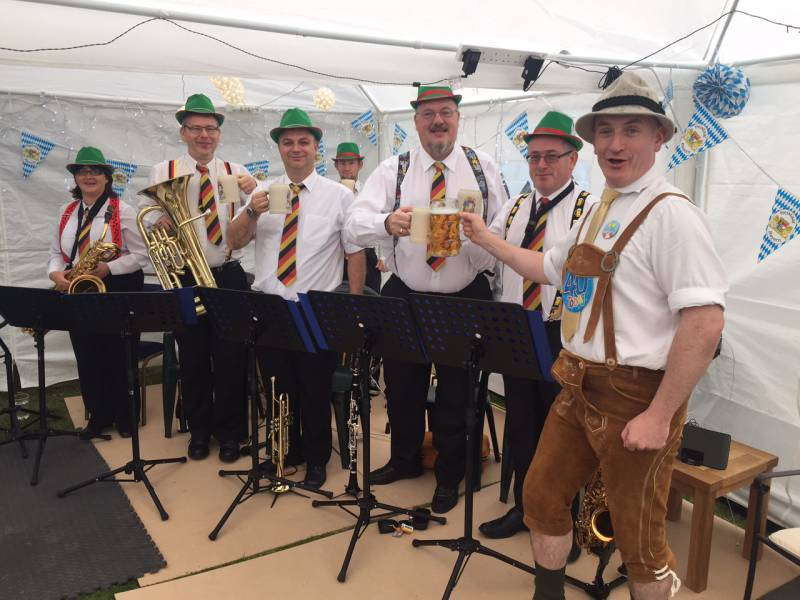 oompah band for hire