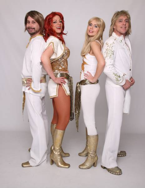 Abba tribute bands for corporate events