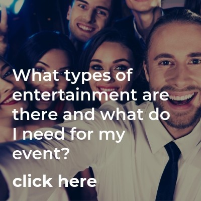 What types of Corporate Entertainment are there?