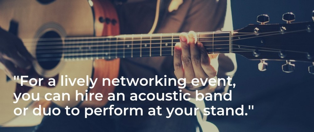 Acoustic Bands for Networking Events