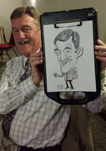 Caricaturist for weddings