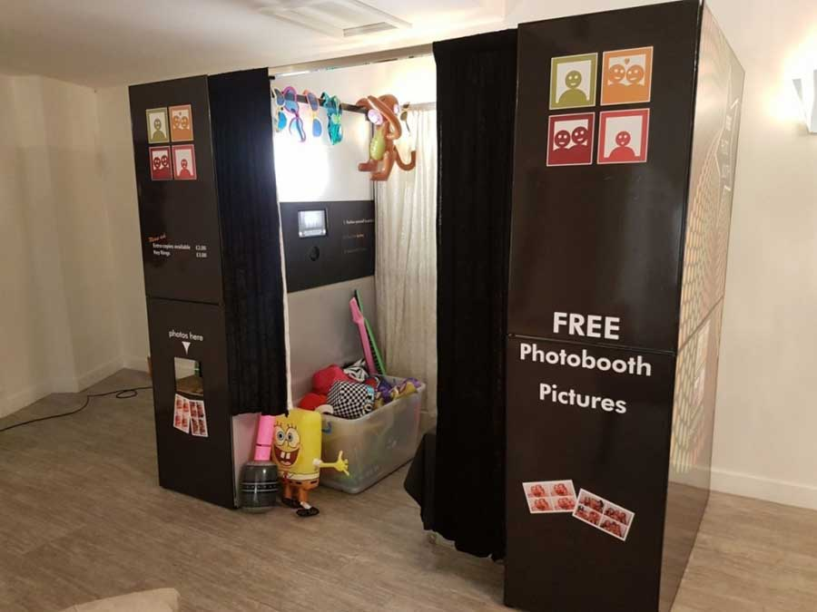 photo booth available to hire for an event or wedding