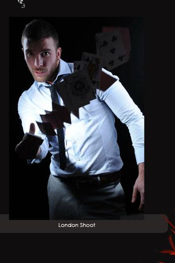 Magician for hire in london James More