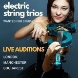 Electric String Trios! Live Auditions in London, Manchester & Bucharest - June 2019 image