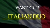 Italian Duo Wanted - 27th June 2017 Hotel Qatar $2000+ Per Month image