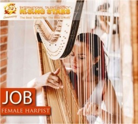 Cruise Ship Vacancy For Female Harpist - 6 Month Contract