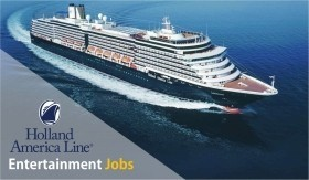 Musicians Wanted For Holland America Cruise Line- Auditions In Michigan -22 March 2020 - $4000-$5000 Per Month