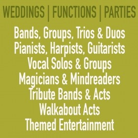 Function & Party Bands, Duo's, Solos Musicians and Other Entertainers Wanted For Various Events In The UK
