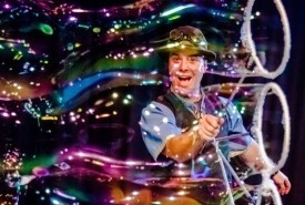 The Highland Joker - Bubble Performer Uckfield, South East
