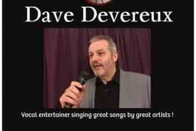 Dave Devereux  - Male Singer Walsall, West Midlands