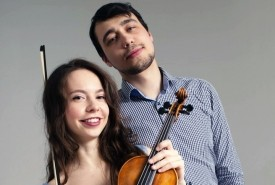 Alina Nagimova (Duo  - Violinist