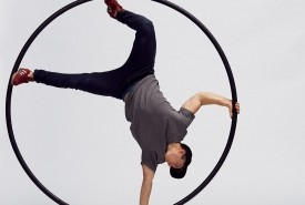 Peter William Shirley - Cyr Wheel Act Swindon, South West