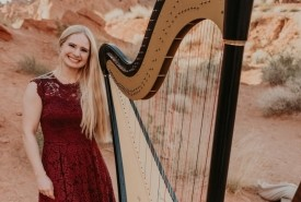 Melody in Flight, Harpist - Harpist Las Vegas, Nevada
