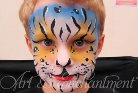 Arts and Enchantments - Face Painter Midlands