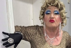 Dame Fawn Denier  - Drag Queen Act Doncaster, North of England