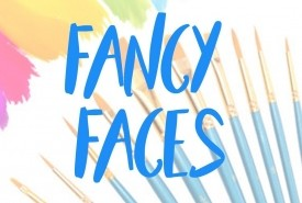 Fancy faces  - Face Painter Huddersfield, Yorkshire and the Humber
