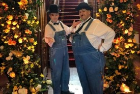 Laurel and Hardy Lookalikes - Close-up Magician Southport, North West England