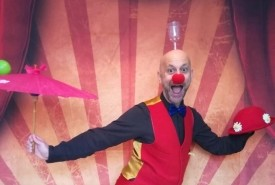 The Webcam Circus Show - Clown Edinburgh, Scotland