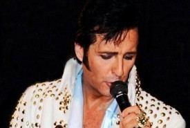 Mike Memphis as Elvis - Elvis Impersonator Cramlington, North East England