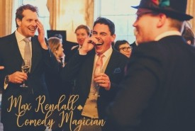 Magician Max Rendall - Wedding Magician Fulham, London