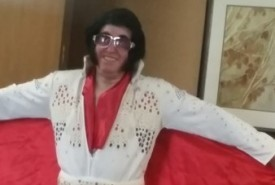 Elvis Singing Telegrams Weddings - birthday parties - corporate events - fun for everyone - Elvis Impersonator