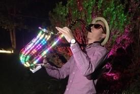 Lloyd Cottrell LED Sax - Saxophonist Cardiff, Wales